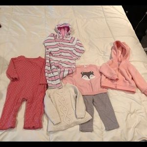 Infant girls outfit Lot